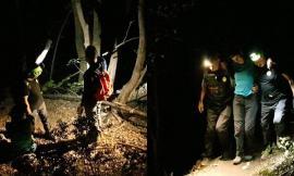 Coppia di turisti finisce fuori sentiero alle Lame Rosse: una ragazza scivola e si fa male alla caviglia