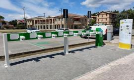 Nuove colonnine di ricarica per mezzi elettrici in cinque comuni del maceratese
