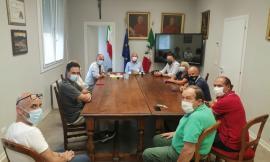 L'assessore Castelli a Caldarola: in ballo la realizzazione del primo tratto della Pedemontana