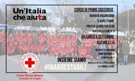 Cingoli, torna il corso di primo soccorso per i nuovi volontari della Croce Rossa