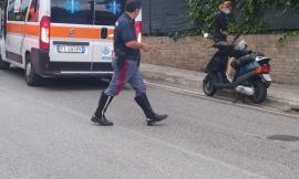 Montelupone, scooter contro auto: ferito un 35enne che è stato trasportato all'Ospedale di Civitanova