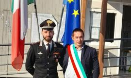 Pieve Torina, il sindaco Gentilucci saluta il capitano Cara: lascerà la Compagnia di Camerino