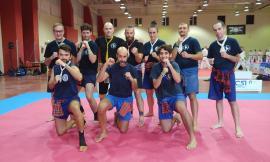 Muay Thai, una società di Montecassiano allo stage nazionale di Arti Marziali