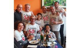 """""""E sono solo i primi 50"""": compleanno con sorpresa per il maceratese Gianluca Di Iorio"""