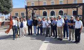 Porto Potenza, di nuovo insieme i commilitoni della Brigata San Marco: il saluto delle istituzioni