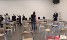 """San Severino, maltempo: infiltrazione d'acqua all'aula magna dell'Itis """"Divini"""""""