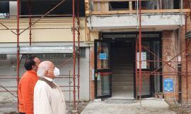 Macerata, lavori per 5,5 milioni di euro al Liceo Artistico: il termine nel 2023. Sopralluogo di Pettinari