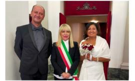 San Severino, Stefano e Cintya dicono sì: primo matrimonio civile per il sindaco dopo la riconferma