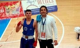 Macerata, il giovane pugile Ernis Abazi vince a Castelfidardo