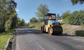 Iniziati i lavori di risanamento della provinciale Camerino-Serravalle