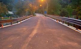 Camerino, riaperto il ponte di Sfercia: la Provincia ha completato i lavori