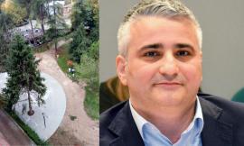 """Tolentino, Europa Verde torna sui giardini Lennon: """"Cementificati 100 metri quadri di superficie"""""""