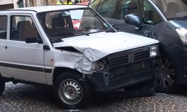 Macerata, donna travolta da un'auto e trasportata a Torrette in eliambulanza: è grave (Foto)