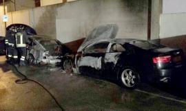 L'inquietante notte delle auto incendiate: sei i veicoli dati alle fiamme