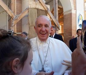 Un centro di comunità per Ussita: la donazione di Papa Francesco per il comune terremotato