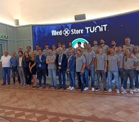 Macerata, primo giorno di scuola per la Med Store Tunit: nasce una nuova partnership commerciale
