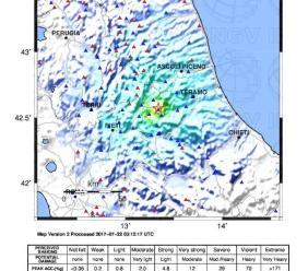 Ingv Terremoti: il sisma di questa notte appartiene alla sequenza sismica di Amatrice-Norcia-Visso