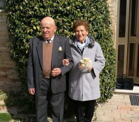Nozze di diamante: festeggiamenti oggi per i coniugi Marconi