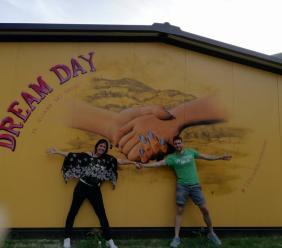 Monte Cavallo, ecco il Dream Day firmato dall'artista Mandolini