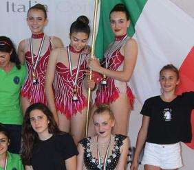 Ginnastica ritmica, la Promosport Camerino al Torneo internazionale di Santa Marinella