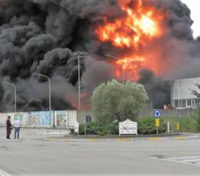 Incendio Orim, ecco l'elenco delle sostanze che dovevano essere incenerite in Germania