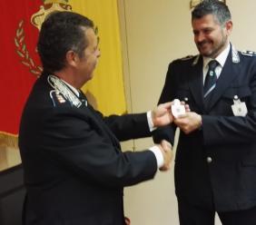 Passaggio di consegne al comando della polizia locale di Montelupone e e Recanati