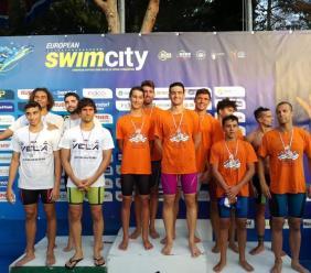 Assoluti regionali di nuoto, ancora ori per i ragazzi della NPN Tolentino