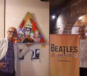 L'artista maceratese Stefano Calisti protagonista al Festival dei Beatles di Senigallia