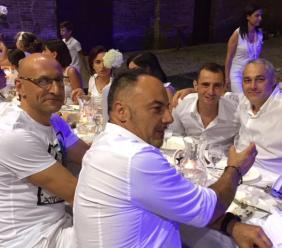 """Tolentino, ancora un successo per la """"Cena in Bianco"""""""