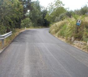 Terminati gli interventi di manutenzione sulla Faleriense - Ginesina e sulla Sarnano - Sassotetto