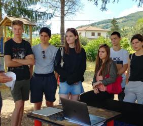 A Pieve Torina gli studenti internazionali del Laboratorio di Architettura C.i.a.o