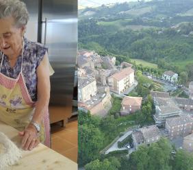 Sant'Angelo in Pontano, a 89 anni torna in cucina: Duilia riapre il suo ristorante dopo il terremoto