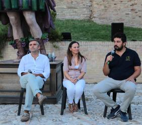 MI_MarcheIperespressioniste, Enolo e il videomapping di Luca Agnani affascinano il pubblico