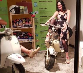 """Loro Piceno, grande successo per """"Be Veggie"""" di Naike Pascucci al festival del vino cotto"""
