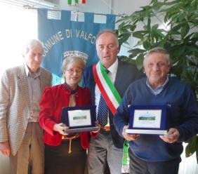 Valfornace, cerimonia in Comune per la consegna targhe di benemerenza ai propri cittadini