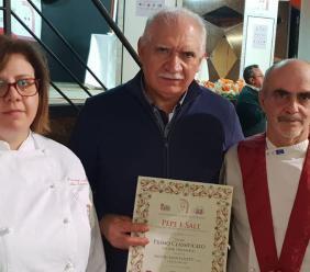 Sarnano, la Salumi Monterotti premiata a Siena: il suo ciauscolo IGP è il migliore d'Italia