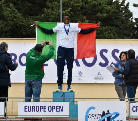 Montecassiano, Dieng campione europeo di campestre
