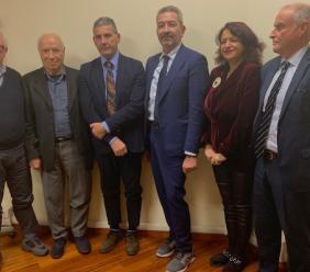 La delegazione marchigiana di Confartigianato a colloquio con il Commissario Farabollini