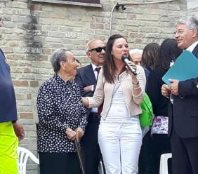Loro Piceno, grande festa per Maria Mochi: festeggia 105 anni (FOTO)