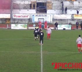 """L'Aurora Treia si impone sul Portorecanati: al """"Monaldi"""" finisce 1-3 (VIDEO)"""