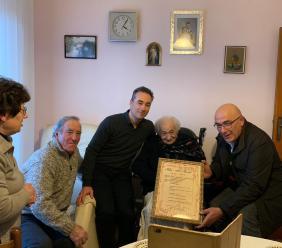 Montelupone, Ida Canale festeggia 100 anni (FOTO)