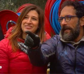"""Le telecamere di """"Linea Verde"""" in visita all'azienda settempedana di Cinzia Anibaldi"""
