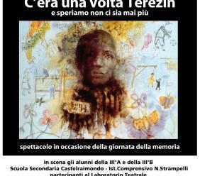 """""""C'era una volta Terezin"""": lo spettacolo in scena a Castelraimondo per la Giornata della Memoria"""