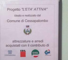 """Cessapalombo, partito il progetto """"Età attiva"""" per migliorare la qualità della vita della popolazione anziana"""