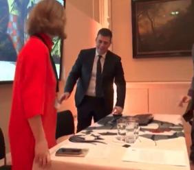 Matelica, il Tg1 dedica un servizio alla conferenza del sindaco Delpriori alla National Gallery (VIDEO)