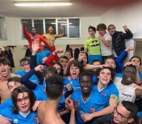 Sangiustese Juniores, battuta Castelfidardo per 2 a 0: conquistati i playoff