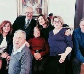 Pievebovigliana, festa grande per i 105 anni di Raul Lucarini