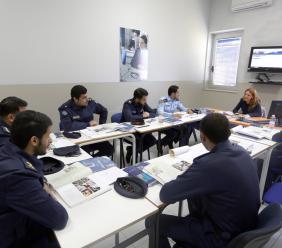 Loreto, alla scoperta del Centro di Formazione Aviation English insieme ai militari del Kuwait (FOTO E VIDEO)