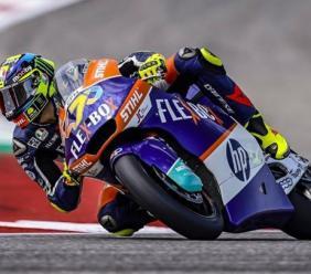 Moto 2, GP Austin: Lorenzo Baldassarri cade al primo giro