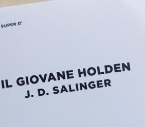 """Maggio dei libri 2019: l'Associazione Culturale """"San Ginesio"""" e il Centro di Lettura """"A. Piatti"""" presentano """"Il giovane Holden"""""""